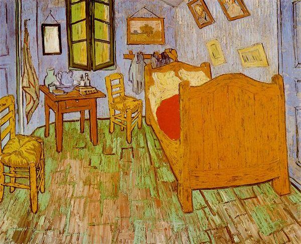 Van Gogh - 在阿爾的臥室﹝The Bedroom at Arles﹞
