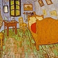 Van Gogh - 在阿爾的臥室﹝The Bedroom at Arles﹞