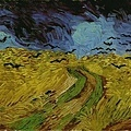 Van Gogh - 有烏鴉的麥田﹝Wheatfield with Crows﹞1890