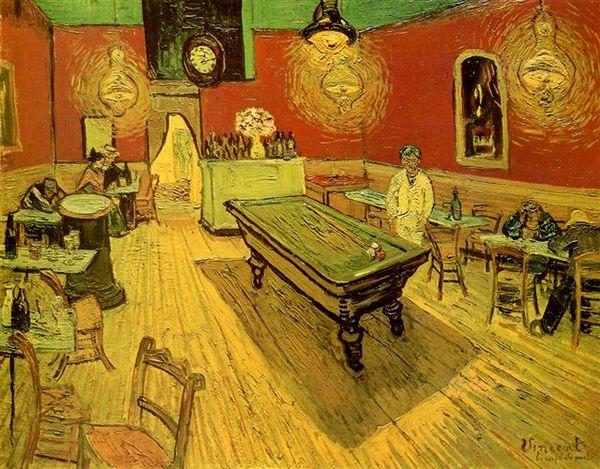 Van Gogh - 夜間咖啡館﹝Night Cafe﹞
