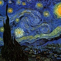van gogh - 星月夜﹝The Starry Night﹞ 1889