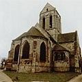 Van Gogh - 現在還保持的奧維教堂
