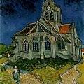 Van Gogh - 奧維的教堂