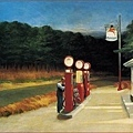 Edward Hopper - Gas lo