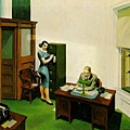 Edward Hopper - office night