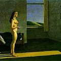 Edward Hopper - Woman sun