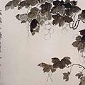 金農--葡萄圖