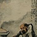 黃慎--鐵拐煮酒