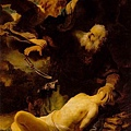 Rembrandt -Abraham and Isaac (1634)