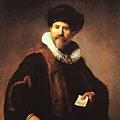 Rembrandt -Nicolaes Ruts (1631)