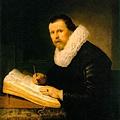 Rembrandt-A Scholar (1631)