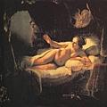 Rembrandt-Danae(1636)