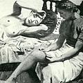 李石樵--女二人‧第二回府展‧《特選‧推薦》‧1939年‧民國28年‧昭和14年 ‧油畫
