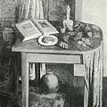 李石樵--室內‧第七回台展‧《特選‧朝日賞》‧1933年‧民國22年‧昭和8年 ‧油畫