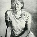 李石樵--珍珠首飾‧第十回台展‧《台日賞》‧1936年‧民國25年‧昭和11年 ‧油畫