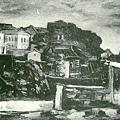 楊佐三郎(楊三郎) --盛夏淡水‧第九回台展‧1935年‧民國24年‧昭和10年 ‧油畫