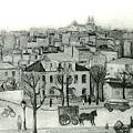 楊佐三郎(楊三郎)--巴里初春‧第七回台展‧《特選》‧1933年‧民國22年‧昭和8年 ‧油畫