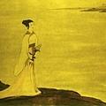傅抱石  《九歌圖,湘君》,民國以後