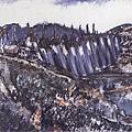 劉海粟  梅山水庫
