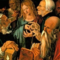 durer - Christ Among the Doctors 1506