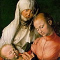 Durer - St Anne with the Virgin and Child 1519