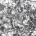 durer_jezdci_apokalypsy Albrecht Dürer-Čtyři jezdci Apokalypsy (1498)