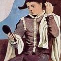 Pablo Picasso-Arlequin con espejo.jpg