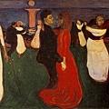 munch-1899生命之舞.