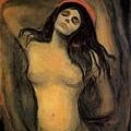 munch-瑪利亞﹝Madonna﹞ 1894