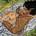 Art_Schiele_Embrace_II