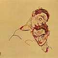schiele-double-portrait