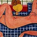 matisse-粉紅色的裸婦﹝Pink Nude﹞1935