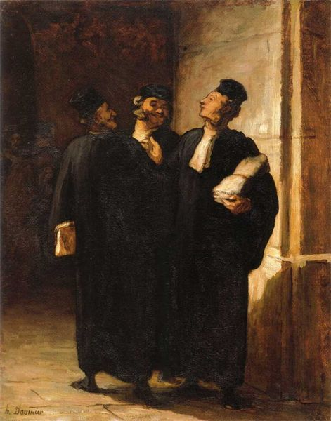 Honore Daumier - Avocats
