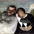 Honore Daumier - Crispin