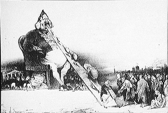 Daumier - gargantua