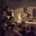 Honore Daumier - Theater