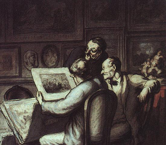 Daumier-Les collectionneurs de gravures