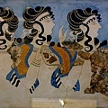 克諾索斯皇宮內的壁畫 - 舞者.jpg