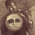 Redon - Detail from Devil