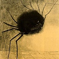 redon - The Smiling Spider 1881