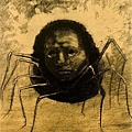 redon_ The Crying Spider  1881