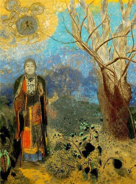 redon_Le Bouddha (The Buddha) 1905