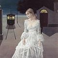 Paul Delvaux - Robe de mariee 1976
