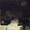 Small train station, all copyright reserved by Paul Delvaux
