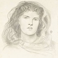 Rossetti - Study for `The Bride'  1865.jpg