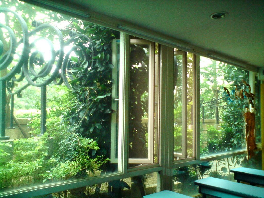 巨星教室 窗外