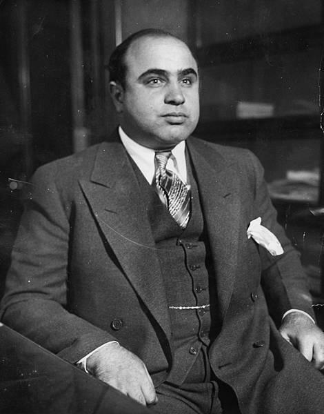 Al Capone(1899年1月17日-1947年1月25日)