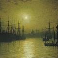Nightfall Thames