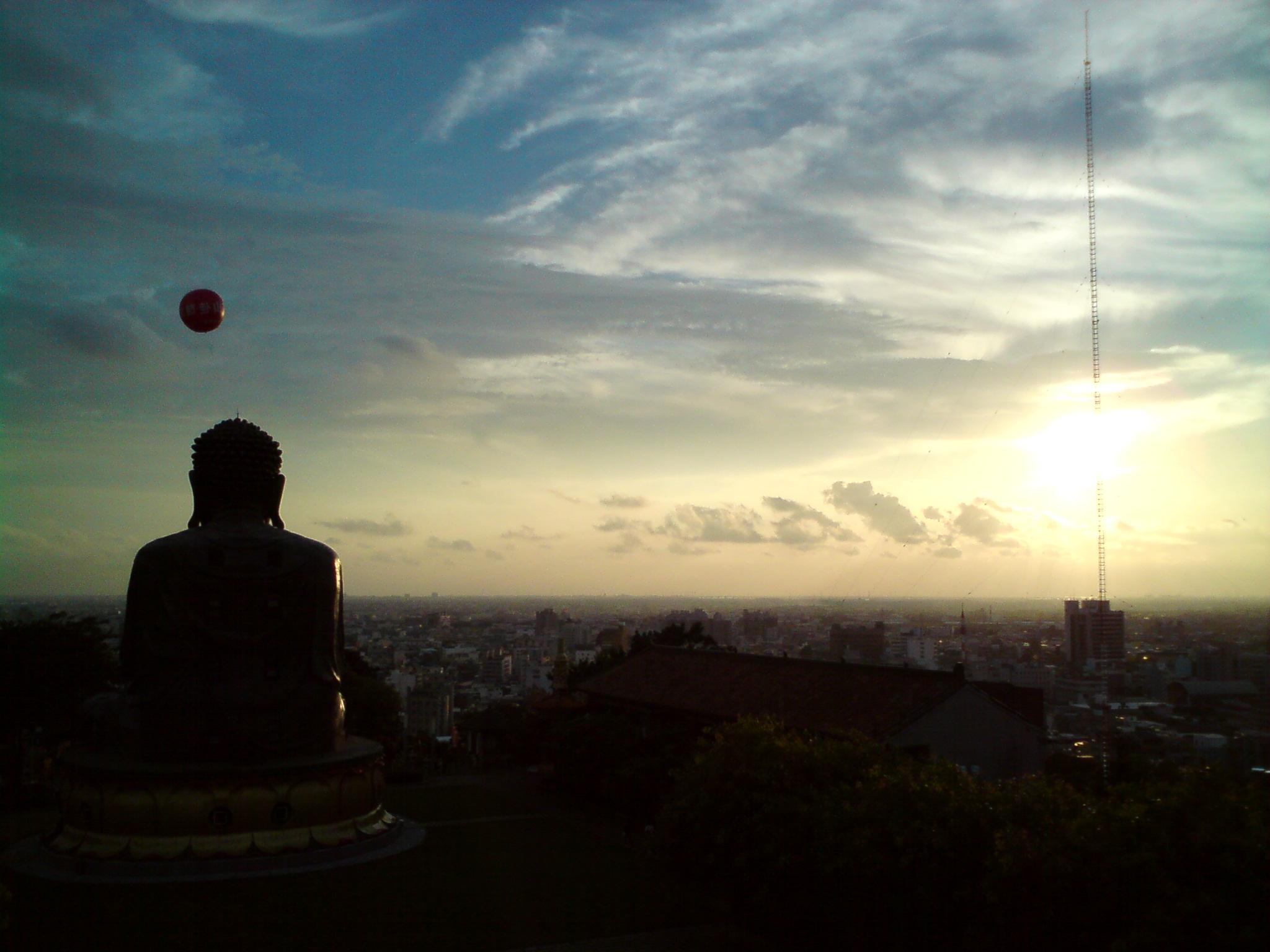 鳥瞰彰化市區