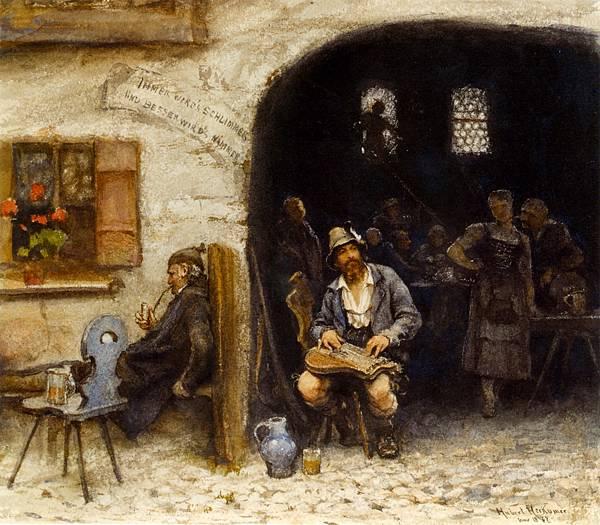 by Hubert von Herkomer